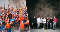Federspiel und Jugendsinfonieorchester