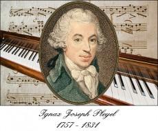 Ignaz Joseph Pleyel (1757 Ruppersthal - 1831 Paris)