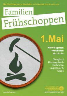 Familien Frühschoppen 1. Mai der Pfadfindergruppe Waidhofen/Ybbs