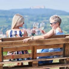 Gemütliches und genussvolles Wandern durch die Weingärten