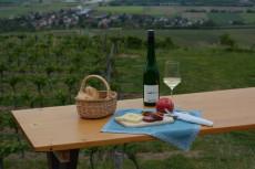 Jausnen im Weingarten