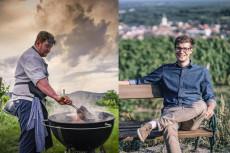 Peter Luf und Stefan Rosner laden zum Weingarten-Dinner nach Langenlois.