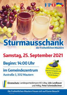 Plakat Sturmausschank
