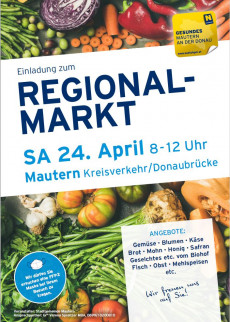 Plakat Regionalmarkt