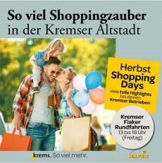 Herbst Shopping Days