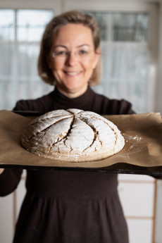 Brotbacken mit Monika Rosenfellner