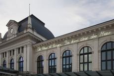 Borjana Ventzislavova, Bahnhof