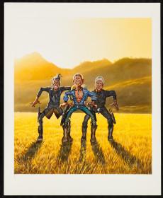 Gerhard Haderer, Die glorreichen Drei, 2004