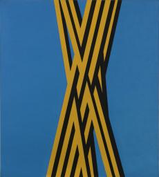 """Florentina Pakosta, 1993/2 (aus der Serie """"Trikolore Bilder"""") (Ausschnitt), 1993"""