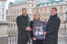 V. l. n. r.: Günther Groissböck, Lidia Baich und Andreas Schager