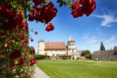 Garten Turnierhof Rosenburg