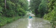 Bootfahren im Wasserpark Tulln