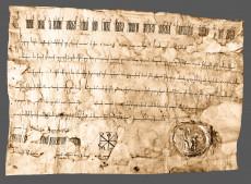 Originalurkunde Kaiser Heinrichs II. vom 14. November 1021