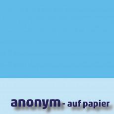 """Logo der Ausstellung """"anonym - auf Papier"""""""