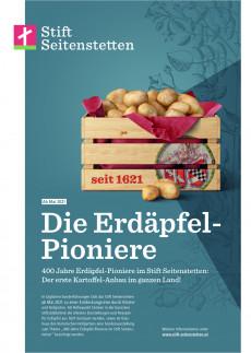 Erdäpfel Pioniere im Kloster