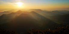 Sonnenaufgang Schneeberg