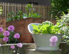 Upcycling Garten