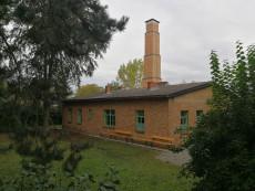 Die KZ-Gedenkstätte Melk im ehemaligen Krematorium des KZ-Außenlagers Melk.