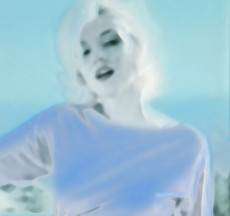Jeanne Szilit, Imagine Through Desire / green – Marilyn Monroe, 2010