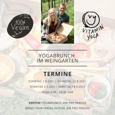 Yogabrunch im Weingarten