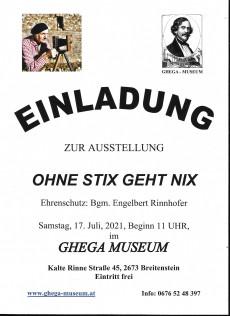 Hans Stix Ausstellung