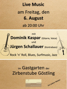 Live Musik Zirbenstube