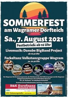 Infoflyer Sommerfest