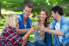 Weingenuss im Kaiser-Josef-Park