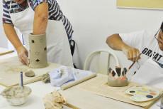 Weihnachten Erwachsene und Jungendliche Keramik Kurs