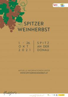 Spitzer Weinherbst 2021 - Plakat