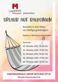 Flyer-Urlaub-Balkonien