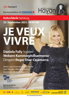 JE VEUX VIVRE - Konzert der Hainburger Haydngesellschaft