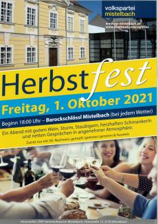 Herbstfest der ÖVP Gemeindepartei Mistelbach