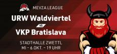 Volleyball MEVZA: URW vs. VKP Bratislava