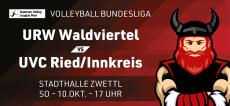 Volleyball Bundesliga: URW vs. Ried/Innkreis