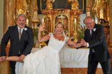 Väter und Braut - nicht immer konfliktfrei