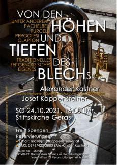 Konzert Stiftsbasilika Geras, 24.10.2021