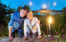 Gartensommer-Vollmondnacht