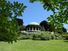 Badener Kurpark mit Beethoventempel