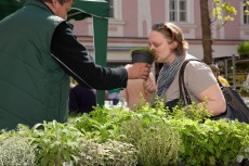Duftender Markt