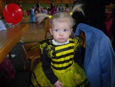 Biene Maya beim Kindermaskenball