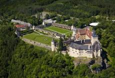 Die prachtvolle Schlossanlage von Schloss Rosenburg