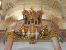 Orgel Stiftsbasilika Geras