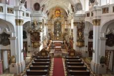 Stiftskirche Dürnstein Innenaufnahme