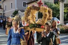Erntekrone Erntedankfest Dürnstein