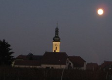 Pfarrkirche Loiben im Mondschein