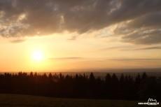 Sonnenuntergang Panoramastüberl