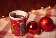 Glühwein oder Punsch am Weihnachtsmarkt