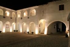 Eisenhuthaus bei Nacht