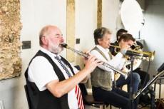 Wolfgang Friedrichs Dixieland Band ist immer mit dabei